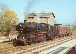 Dampflok 50 3145 In Lößnitz Unterer Bahnhof, Ungelaufen - Trains