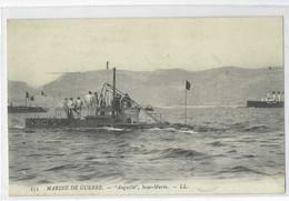 """Marine De Guerre-""""Anguille"""", Sous-Marin - Guerra"""