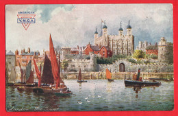 LONDON THE TOWER   AMERICAN YMCA   TUCK T SERIES   ATIST HB WIMBUSH - Tuck, Raphael