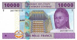 ETATS D'AFRIQUE CENTRALE - REPUBLIQUE DU CONGO 2002 10000 Franc - P.110Ta  Neuf UNC - Central African States