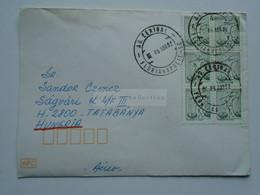 ZA346.11 BRAZIL  BRASIL  Cover    - Cancel  1982 Florianopolis  Sent To Hungary - Cartas