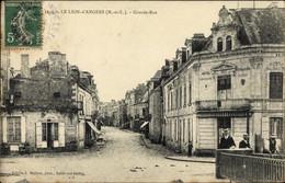 CPA Le Lion D'Angers Maine Et Loire, Grande Rue, Hotel Paris - Altri Comuni