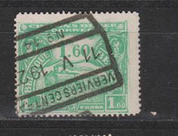 COB 119 Oblitération Centrale VERVIERS Central 14 - 1915-1921