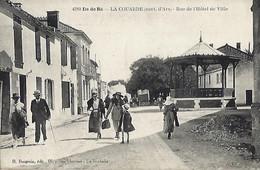 Ile De Ré - La Couarde (cant. D'Ars) - Rue De L'Hôtel De Ville - Ile De Ré