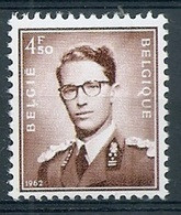 BELGIE Boudewijn Bril * Nr 1068A * Postfris Xx * WIT PAPIER - 1953-1972 Occhiali