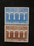 ANDORRE ESPAGNOL 1984 Y&T N° 167 & 168 ** - EUROPA - Nuovi