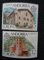 ANDORRE ESPAGNOL 1978 Y&T N° 108 & 109 ** - VUES - Nuovi