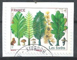 FRANCIA 2011 - Adhesifs - YV 564 - Les Forêts - Cachet Rond - Gebruikt