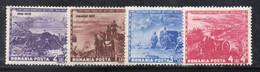 KS109A - ROMANIA 1943 ,  Serie Yvert N. 751/757  ***  MNH . ARTIGLIERIA - Nuovi