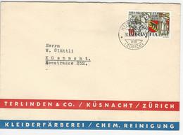 SBK 253 O Küsnacht 30.9.41 - Covers & Documents