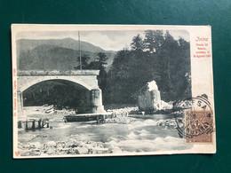 INTRA (VERBANIA) PONTE DI RENCO CROLLATO IL 26 AGOSTO 1901 - Verbania