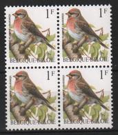 VARIA 290 * BUZIN * 2457 P6a * Naar Boven Verschoven Druk  * Postfris Xx - 1985-.. Pájaros (Buzin)