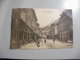 A491 . CPA. 01. NANTUA. (Ain). Rue Du Collège. Beau Plan Animé.  écrite 1940 - Nantua