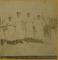Stéréo Circa 1880-90. Femmes Des Sables D'Olonne (Vendée). - Stereoscoop