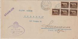 A52. Mussolinia Di Sardegna. 1932. Annullo Guller MUSSOLINIA DI SARDEGNA *CAGLIARI*, Su Piego Comunale. BELLO. - Marcofilía