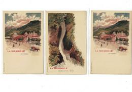3  CPA  LA BOURBOULE - La Bourboule