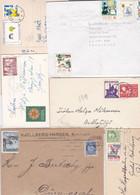 JUL GOD HELG, 10 Letters And Cards  + 18 Stamps (some Norway) - Sonstige