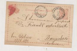 BOSNIA AND HERZEGOVINA Austria Postal Stationery 1899 BOSANSKA DUBICA - Bosnië En Herzegovina