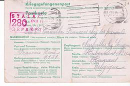 Krijgsgevangen Post 27.4.44 Van Duitsland Naar Hainaut   A 915 - Covers
