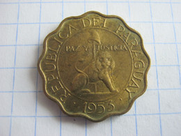 Paraguay 25 Centimos 1953 - Paraguay