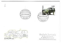 Luxembourg 2013 Citroen 2CV AZU - Briefe U. Dokumente