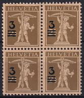 180 Viererblock Aufbrauchsausgabe - Einwandfrei Postfrisch/**/MNH - Nuevos