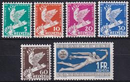 185-190 Serie Postfrisch/**/MNH - Nuevos