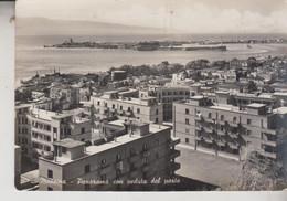 MESSINA PANORAMA CON VEDUTA DEL PORTO VG  1953 - Messina