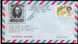 Mexico - 1987 - Lettre - Envoyée à  Argentina - A1RR2 - Mexique