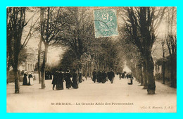A828 / 351 22 - SAINT BRIEUC Grande Allée Des Promenades - Saint-Brieuc