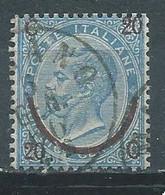 Italie YT N°22 Victor-Emmanuel II Surchargé Oblitéré ° - Usados