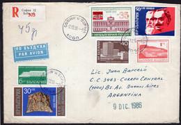 Bulgaria - 1986 - Lettre - Envoyé En Argentina - A1RR2 - Cartas