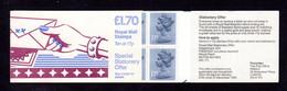 GRANDE-BRETAGNE 1985 - Carnet Yvert C1077-2-2A - SG FT3B - NEUF** MNH - £1.70 Booklet - Fan Letters - Carnets
