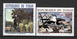 TCHAD Afrique : Poste Aérienne N° 47/48 ** TB (cote 8,oo €) - Tschad (1960-...)
