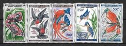 """TCHAD Afrique : """"Oiseaux"""" Poste Aérienne N° 2 à 6 ** TB (cote 36,oo €) - Tsjaad (1960-...)"""