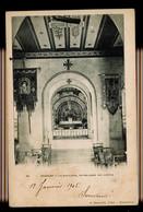 CPA VOSGES DOMREMY N°44 LA BASILIQUE NOTRE DAME DES ARMEES 1905 H. BEAUCOLIN TABAC NEUFCHATEAU - Domremy La Pucelle
