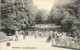 EVREUX Le Jardin Public Belle Animation  RV - Evreux