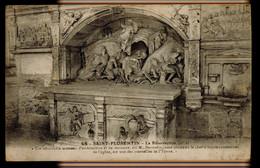 CPA YONNE SAINT FLORENTIN N°48 LA RESURRECTION (N°1) 1917 COLL J.D. SENS CACHET MILITAIRE ALLEMAND - Saint Florentin