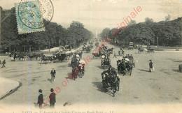 PARIS .  L'Avenue Des Champs Elysées Au Rond-Point . - Unclassified
