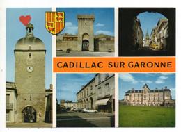 05260-LE-33-Cadillac Sur Garonne-Divers Aspects----------------------multivues - Cadillac