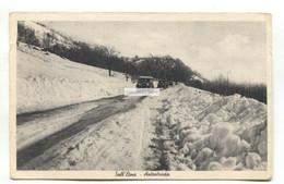 Sull'Etna - Autostrada, Road, Cars, Catania - Old Sicily, Italy Postcard - Catania