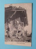 CHALET Dans Les ALPES ( ? ) Anno 1907 Viège ( Voir Photo ) 13 X 9 Cm. ! - VS Valais
