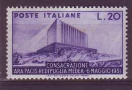 Italie N° 594 ** Neuf Sans Charnière -  Légére Trace De Pli - 1946-60: Nieuw/plakker