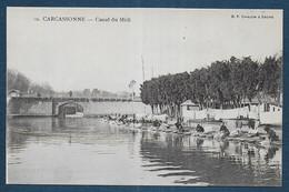 CARCASSONNE -  Canal Du Midi ( Lavandières ) - Carcassonne