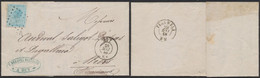 émission 1865 - N°18 Sur LAC Obl Pt 186 çàd Huy (1868) > Wiers, Péruwelz / Collection Spécialisée - 1865-1866 Profile Left