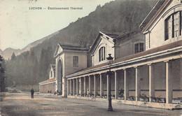 France 31  Luchon  établissement Thermal Librairie Lafont, Alles D'Etigny    M 6482 - Luchon