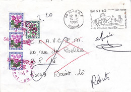 LETTRE Refusée - Taxée 3.20F - REBUT - St LO - 14 Février 1981 - Portomarken