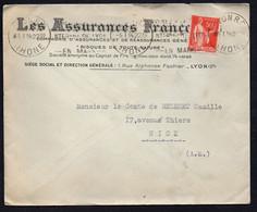 FRANCE : ENVELOPPE PUBLICITAIRE , C.A.D  DU  05/01/1934 . DANS L ETAT . A SAISIR .TIR30/01/21 - Non Classés
