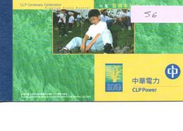 2001 Hong Kong Centenary Of CLP Power - Cuadernillos/libretas