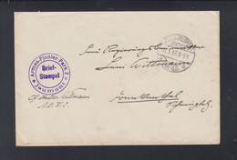 Dt. Reich Feldpost 2917 AOK 2 Jeumont Französische Vignetten - Cartas